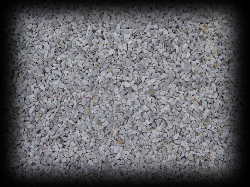 1/2 inch White Stone Chips