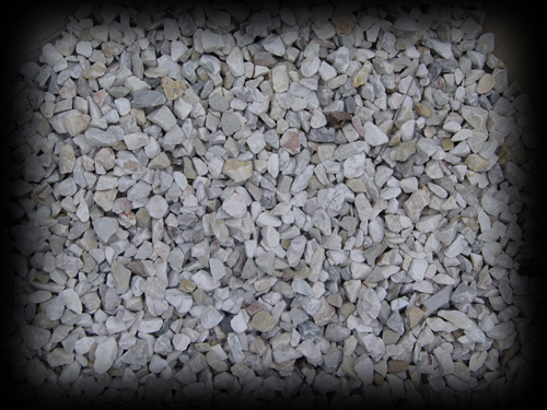 1 inch White Stone Chips